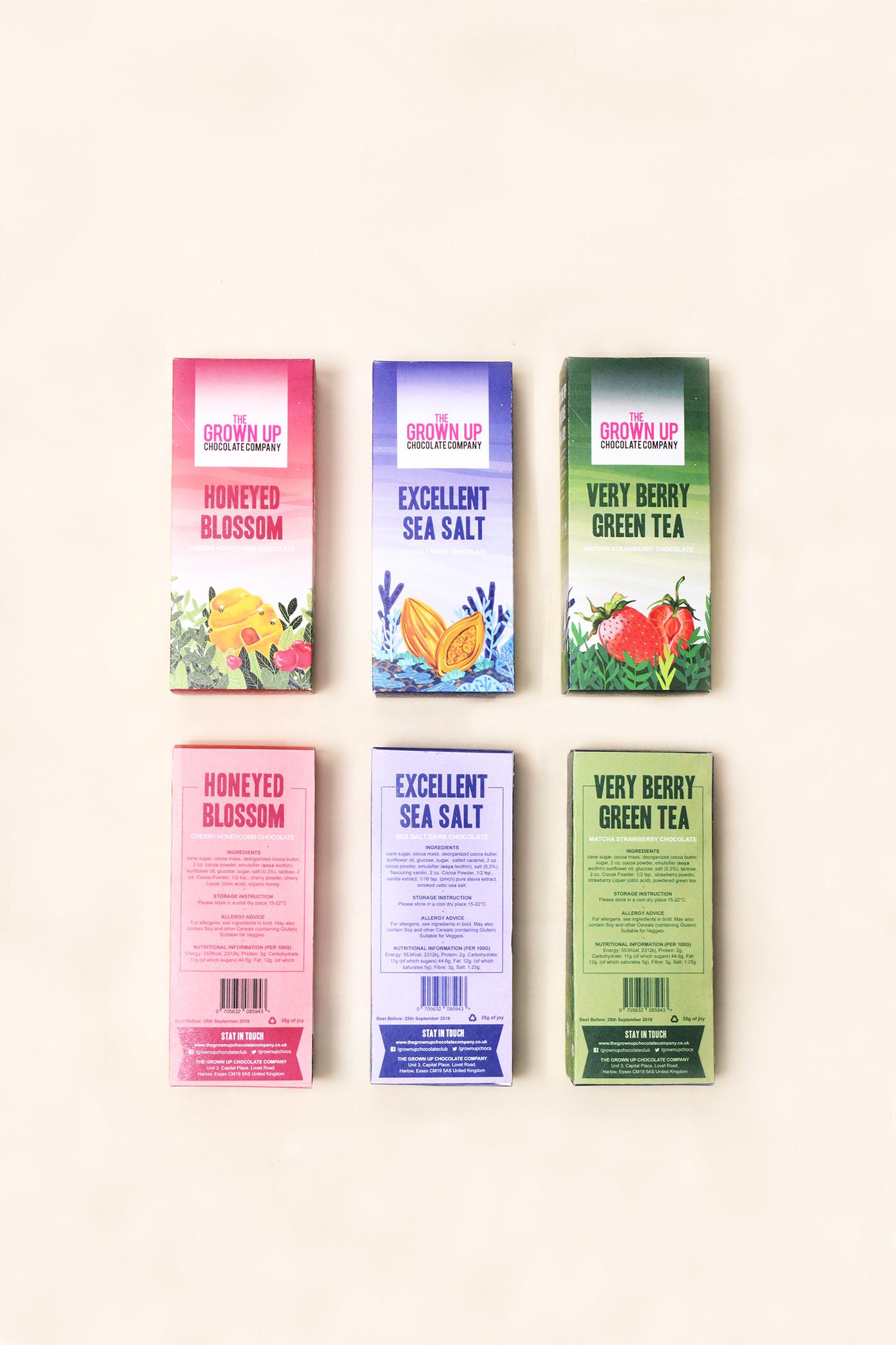 The Grown Up Chocolate Company On Behance