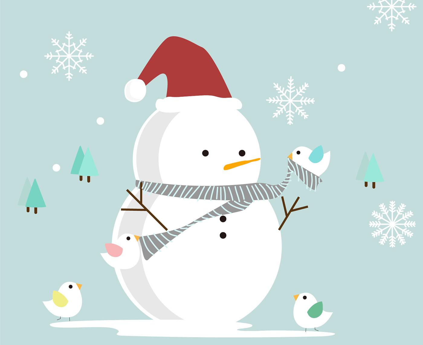 精緻的28套聖誕節賀卡欣賞