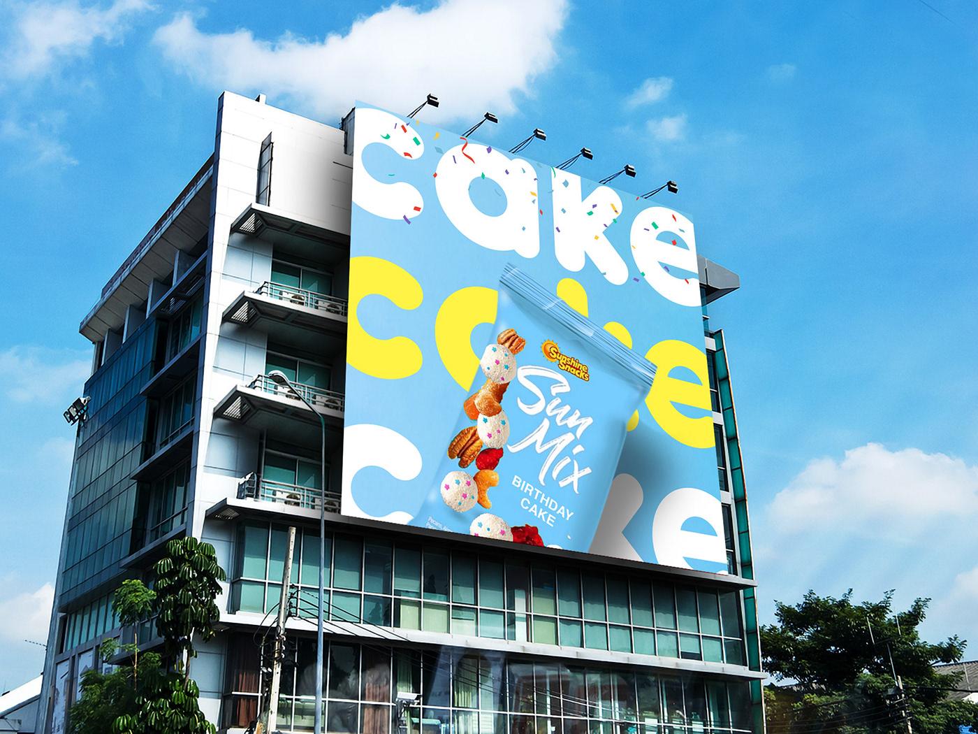Snack campaign launch design