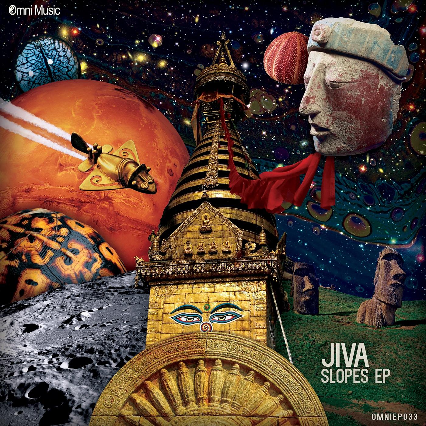 cover Drum and Bass drumfunk print poster Ancient myth mythology aztec planet Space  sansara