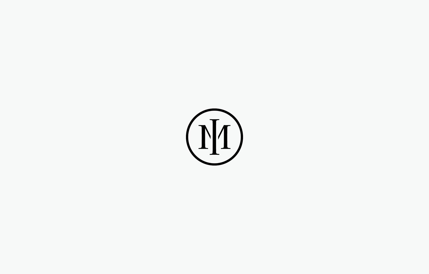 Logotype logo symbols monogram