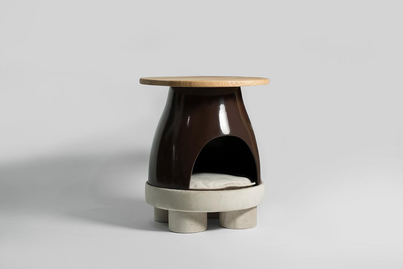 ceramic design ceramica ceramics  furniture furnituredesign home decor KononenkoID miu Pet pets