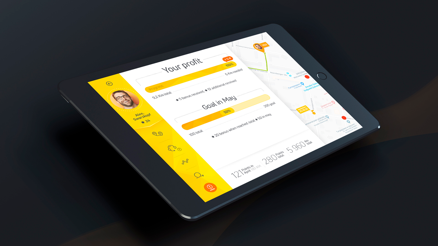 application design development gps mobile mobile design mobile development SAAS Startup UI\UX