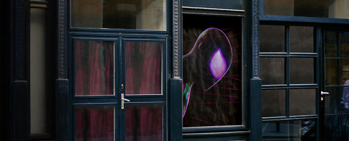 spiderman Spider-verse black underground neon lights redshift cinema 4d spidey Character