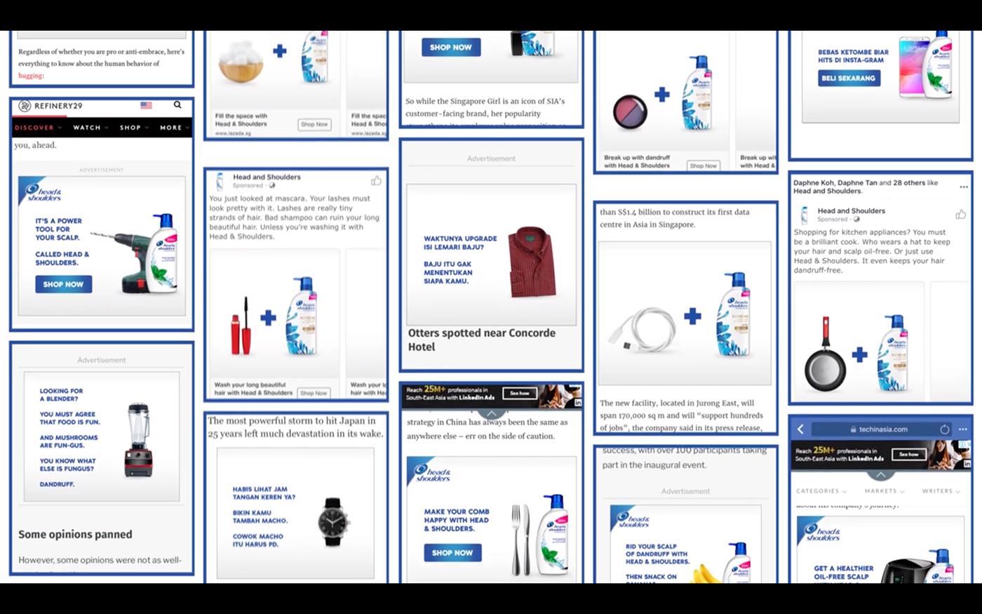 copy online banner digital ads mobile ad boring targetting hyper data driven