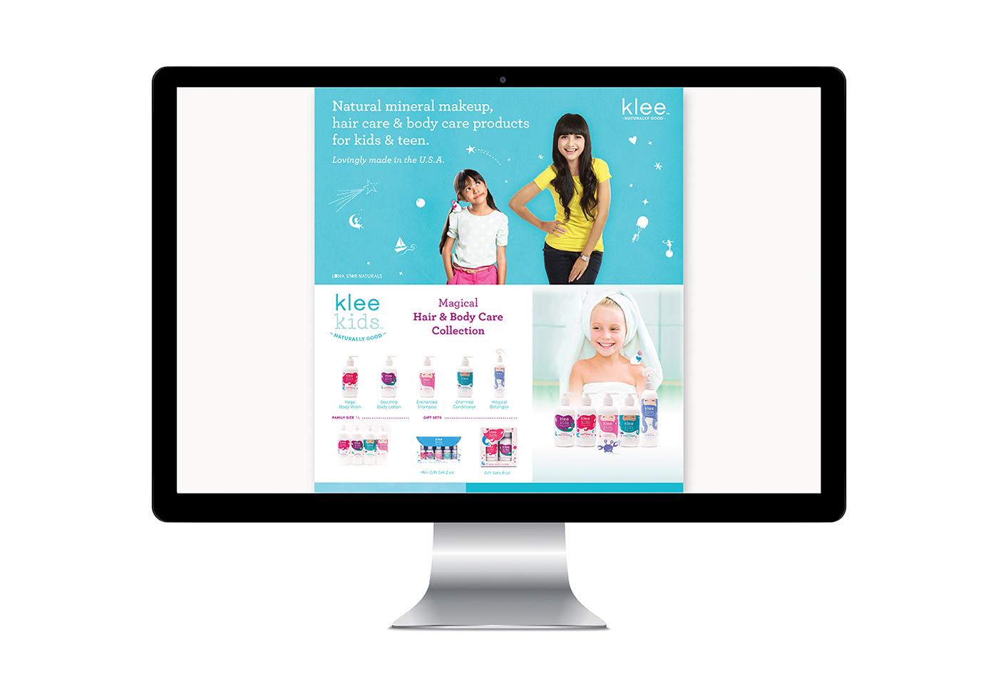 Klee Website on Behance