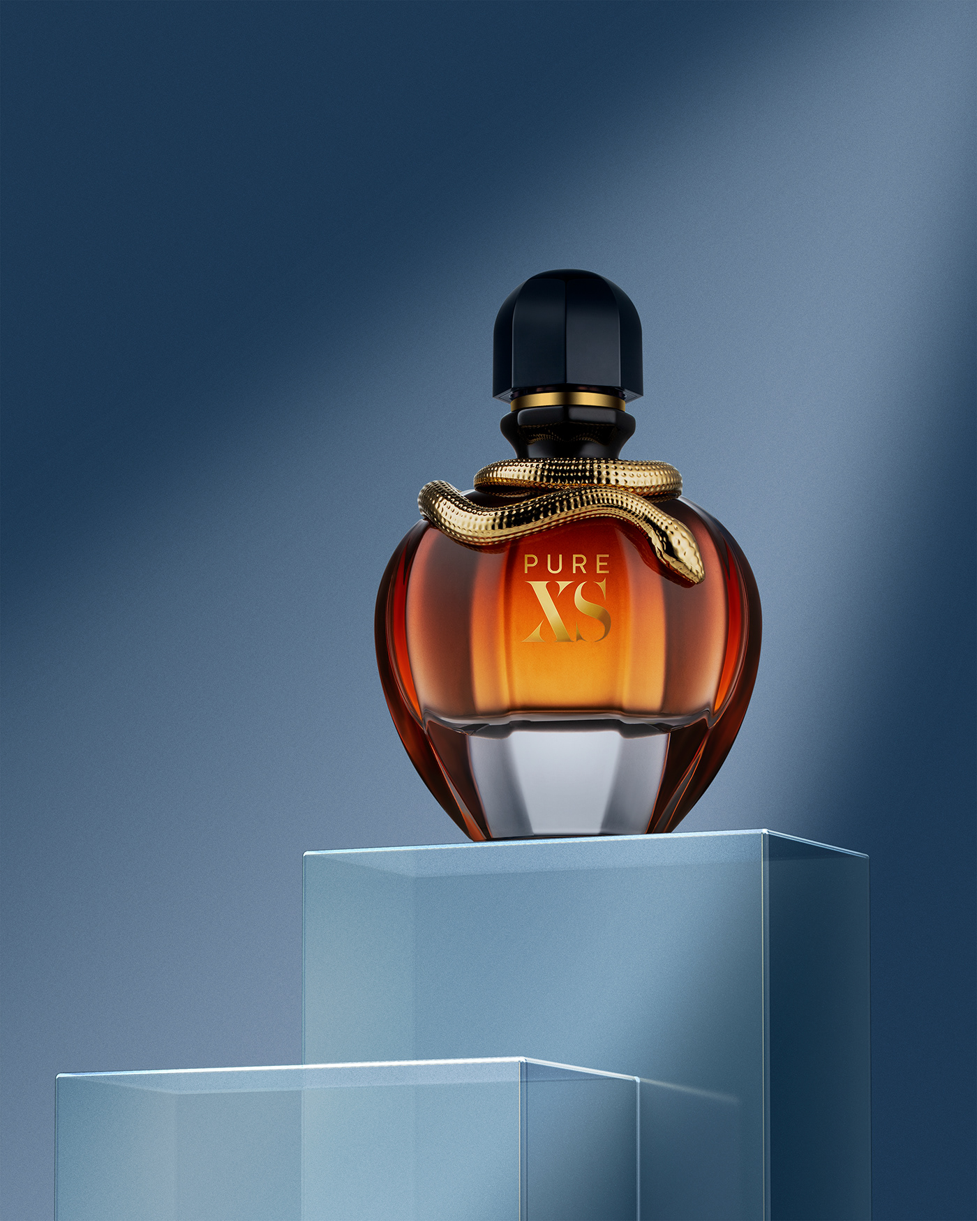 Image may contain: wall, indoor and perfume
