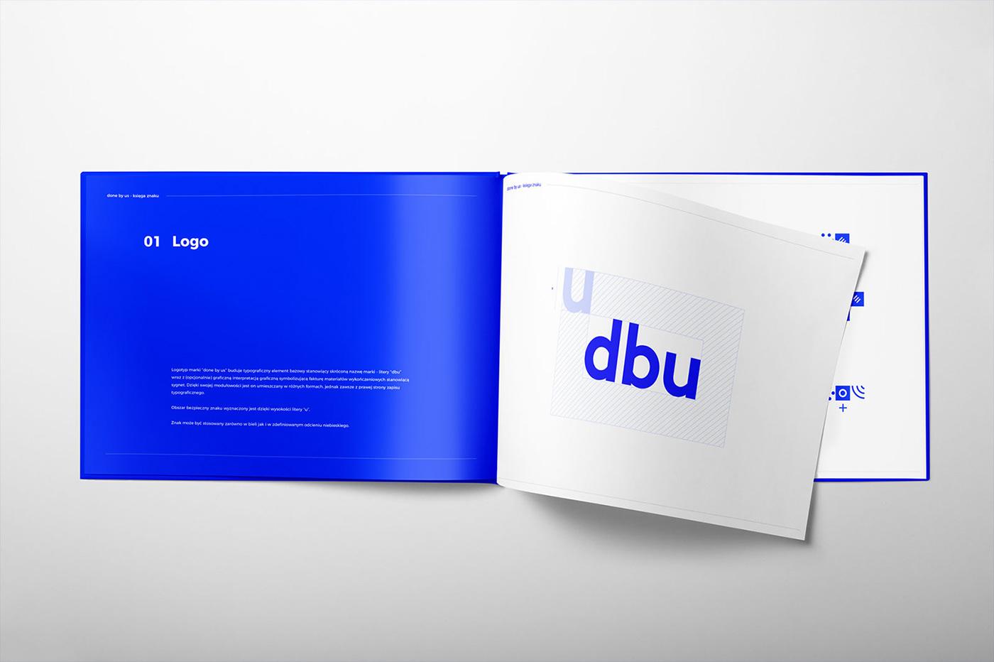 Corporate Identity blue logo modular