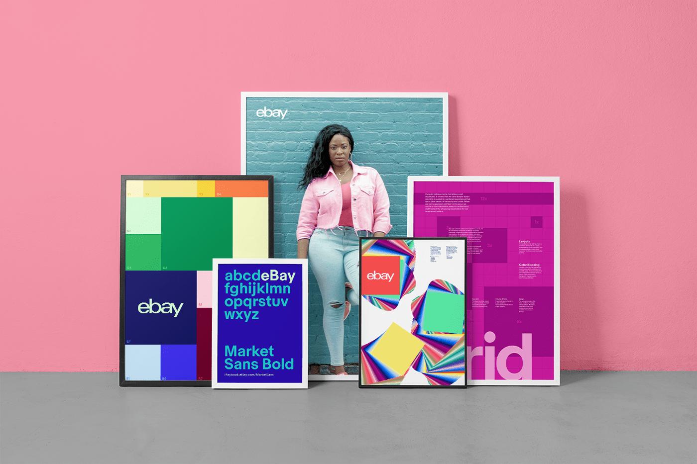 eBay branding  brand identity guidelines color Website Playbook