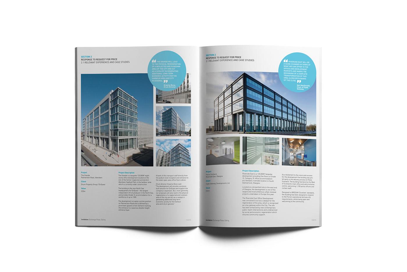 architecture design print graphic design  print design  page layout editorial design