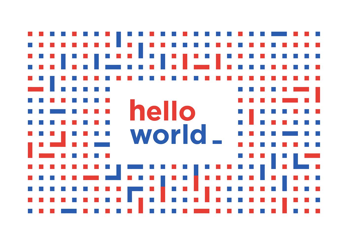 Hello World - Programmable Visual Identity