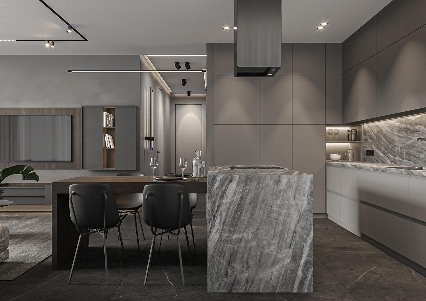 3d Visualisation archiviz interior design