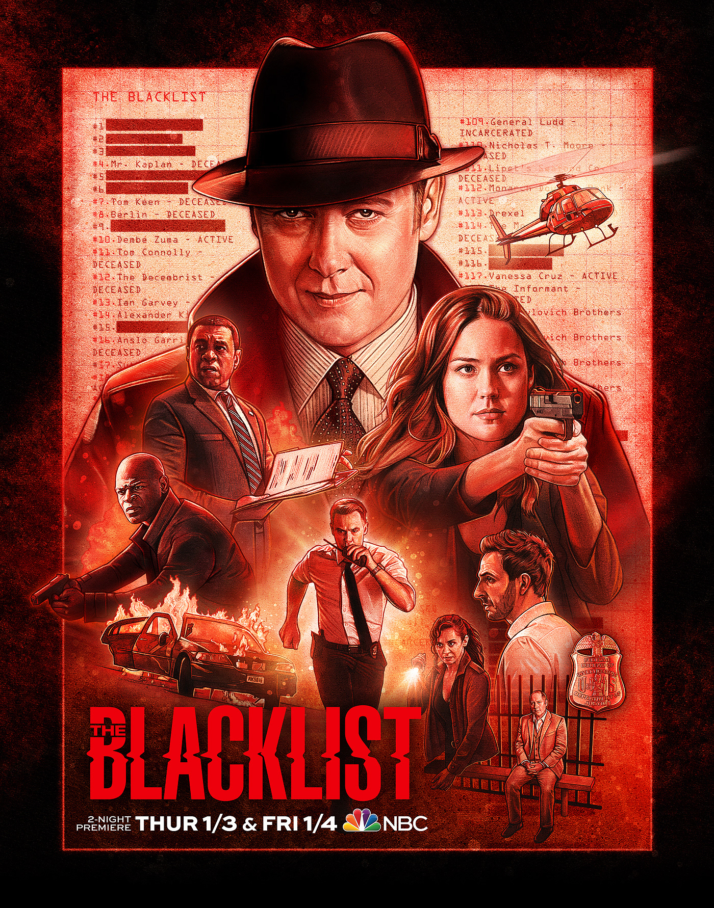 the blacklist staffel 7