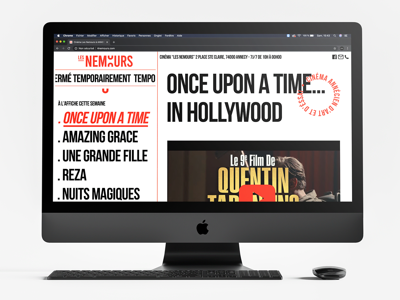 Website Les Nemours