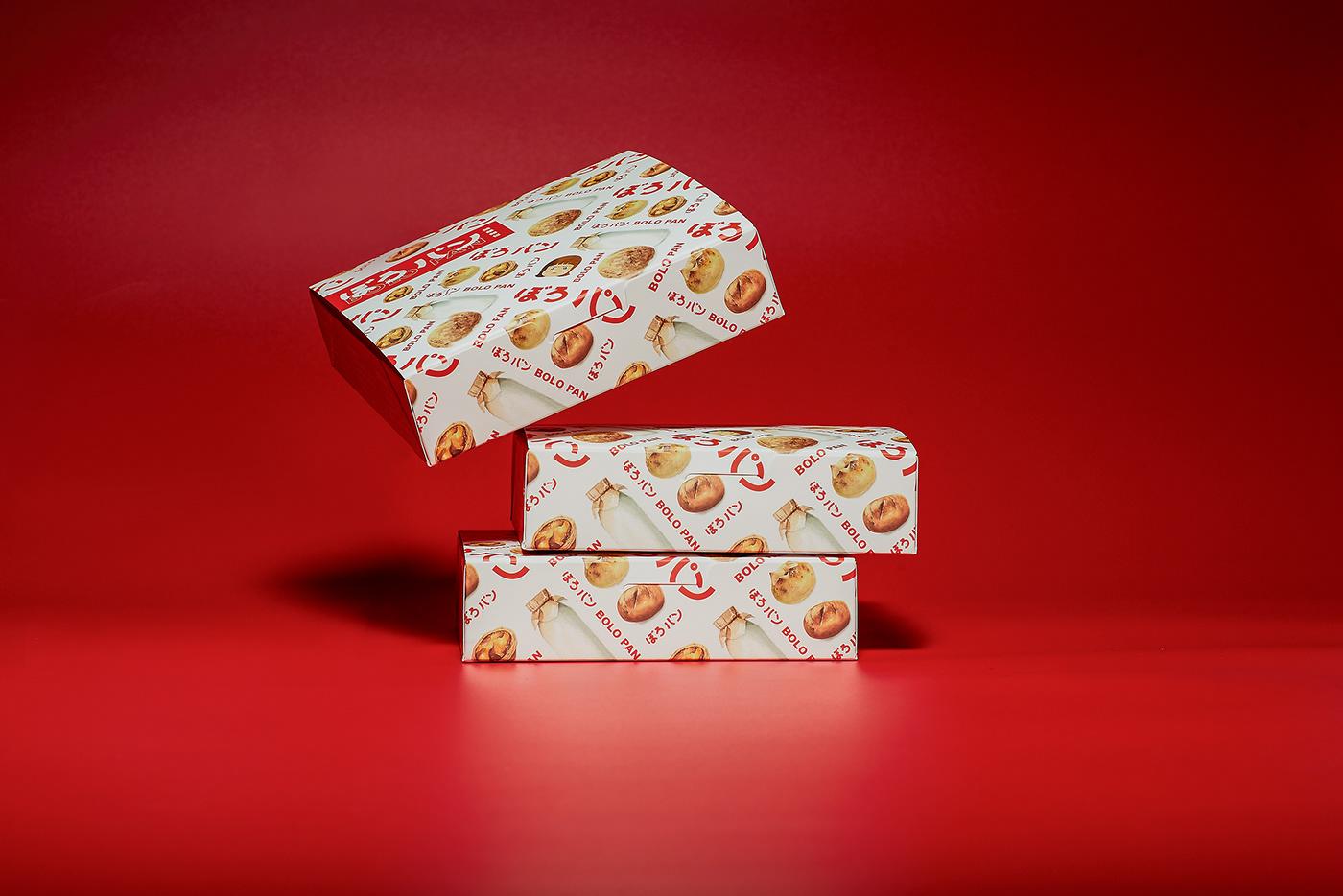 菠蘿麵包 BOLOPAN CIS Packaging taiwan bakery bread