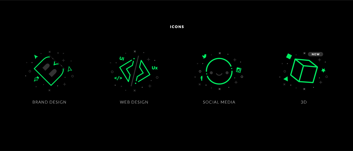 Web Design  UI ux digital agency Website user interface minimal graphic design  Responsive user experience