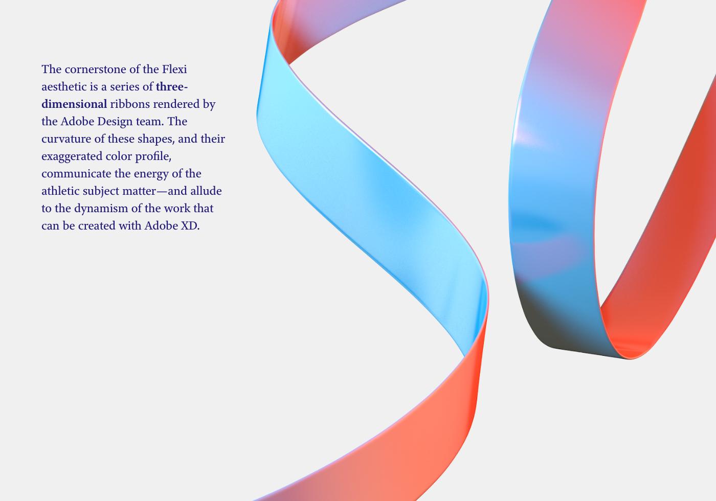 UI ux Adobe MAX branding  app presentation xD