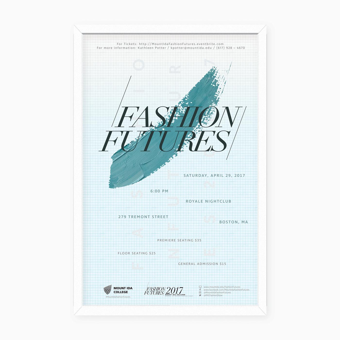 Fashion  fashion show Fashion Futures mount ida  Mount Ida College marketing
