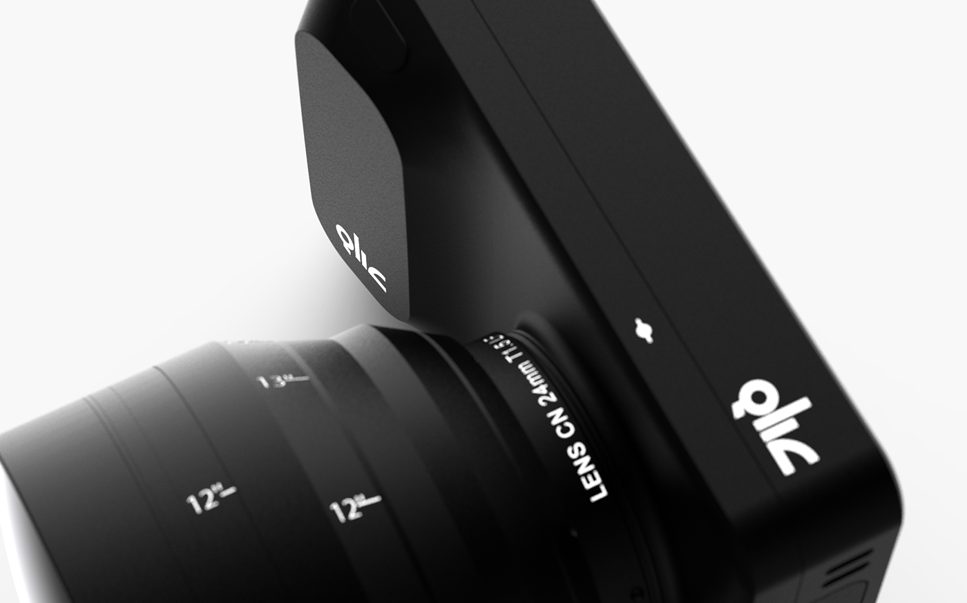 camera concept design Film   Gear industriel lens Photography  product rendering