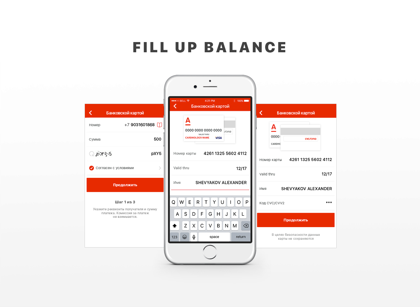 Appdesign,design,interaction,app,cards,vodafone,UI,ux,iphone
