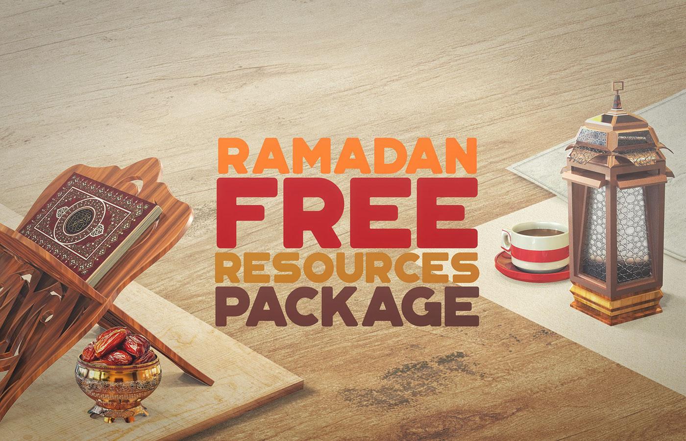 خلفيات وملحقات رمضان - موقع بلال ارت