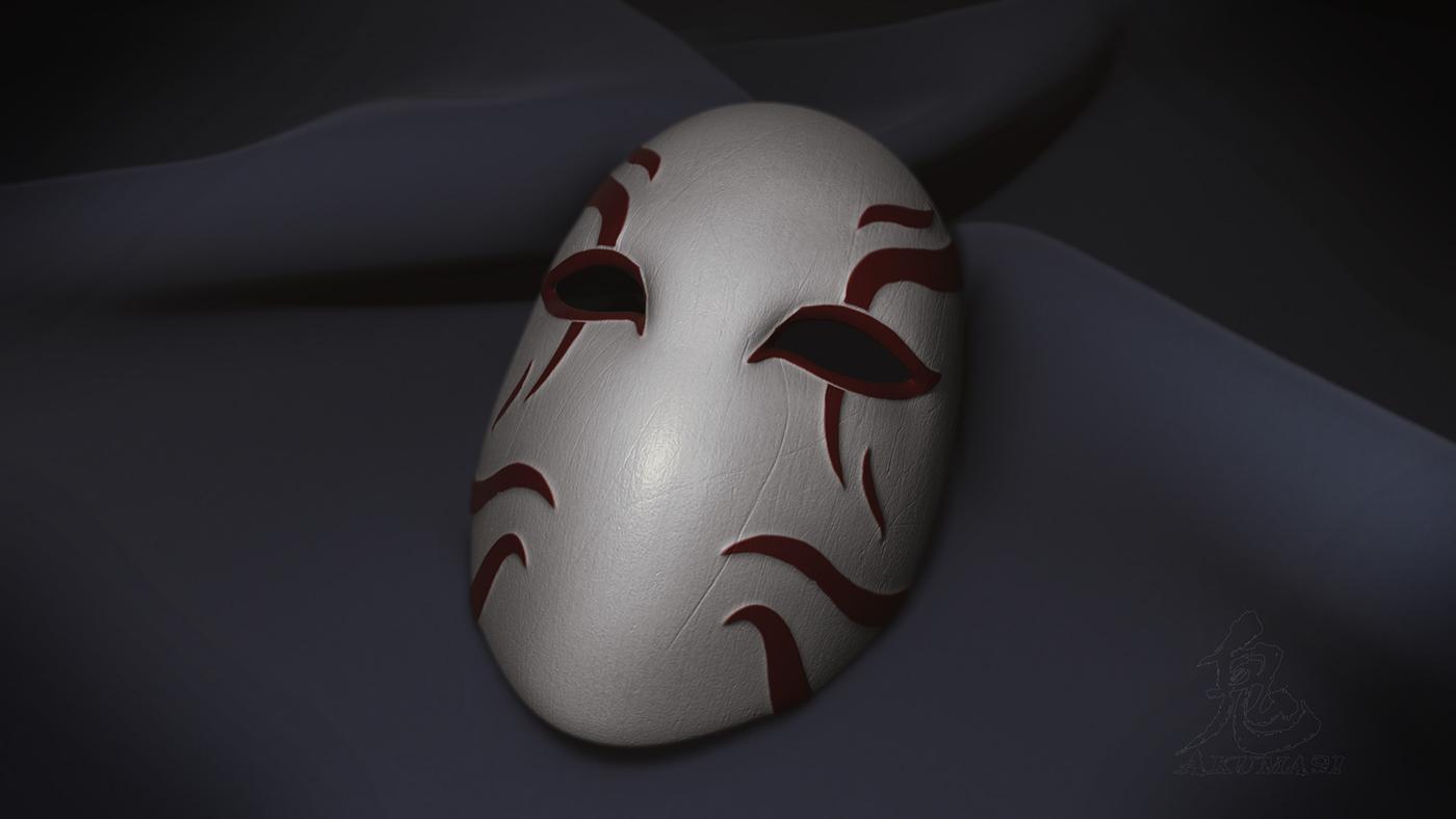 Kabuki Mask on Behance