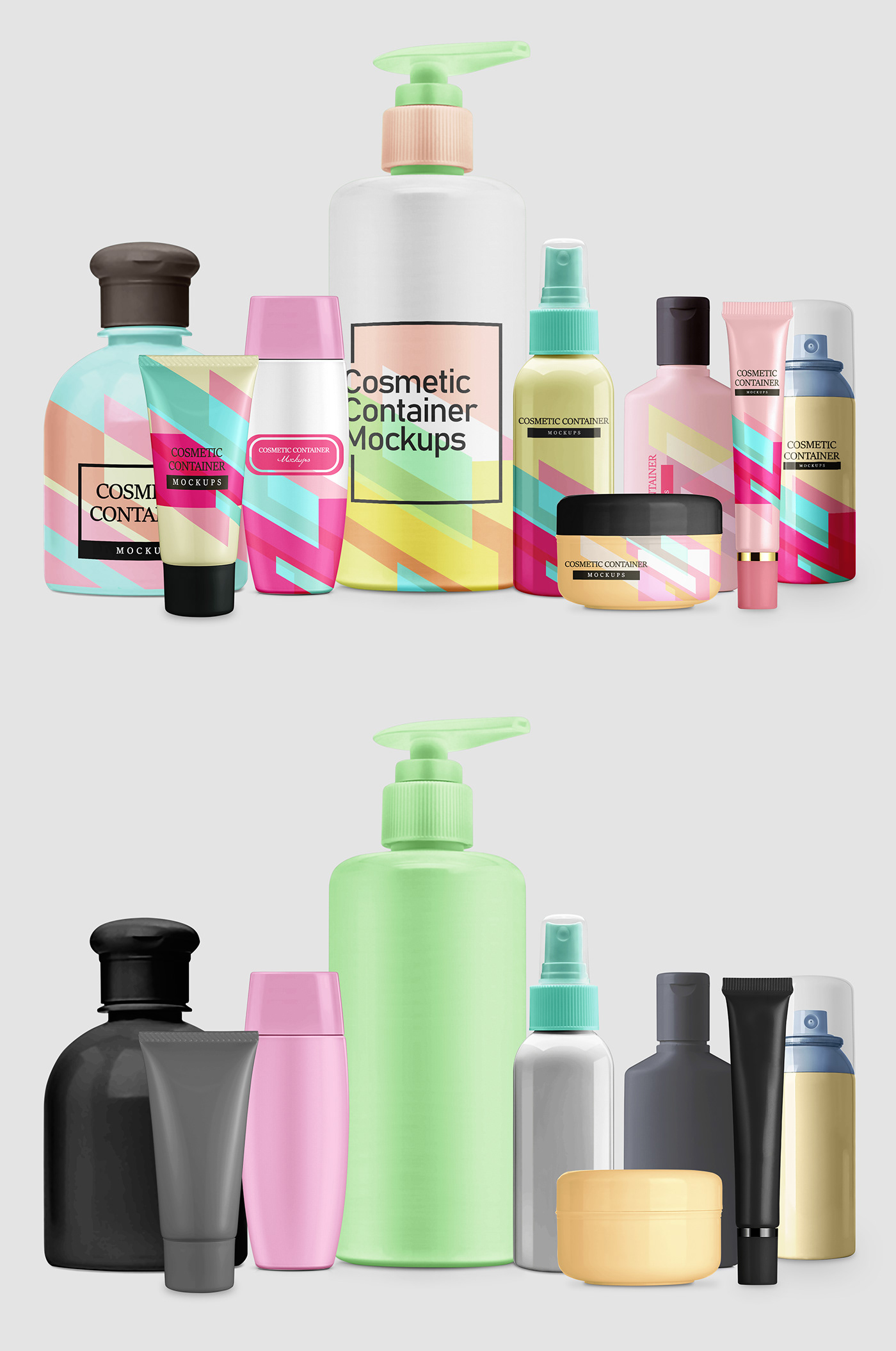 container mockup container mockup pack Cosmetic cosmetic container Mockup cream mockup free container mockup Pack free cosmetic
