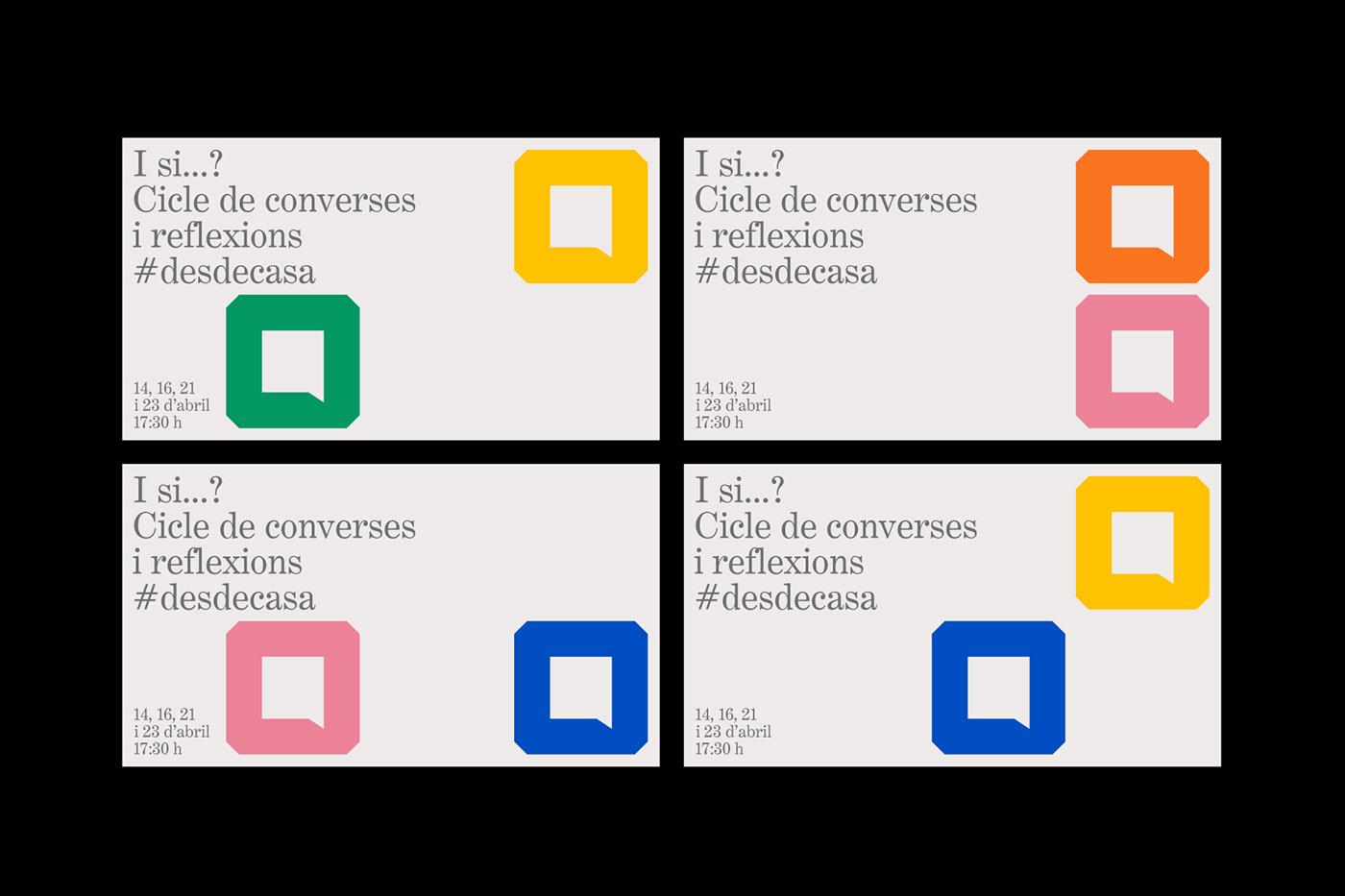 atipus barcelona graphic design  graphic identity identity instagram motion motion graphics