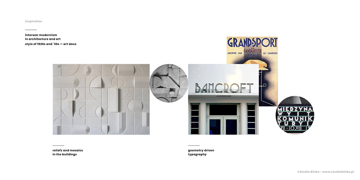 architecture art deco geometry information residential Signage signs wayfinding