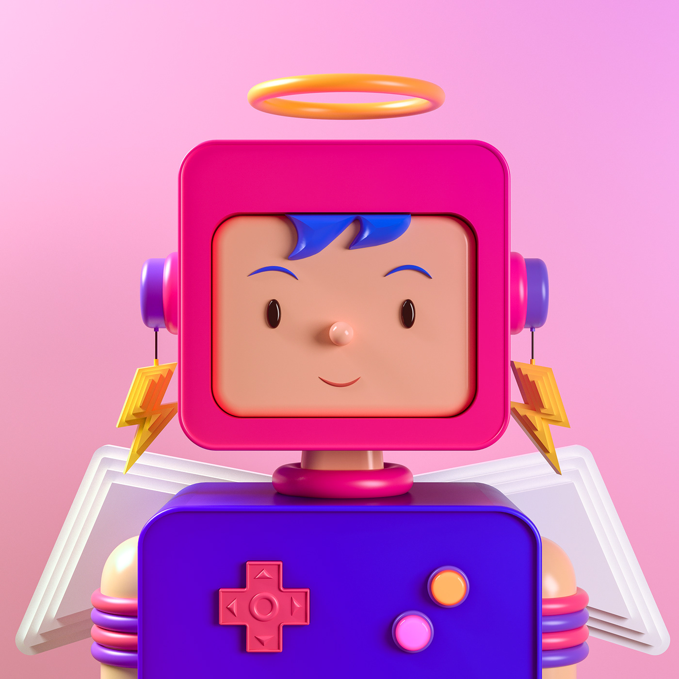 3D c4d characters Isometric nft NFTS rooms toys