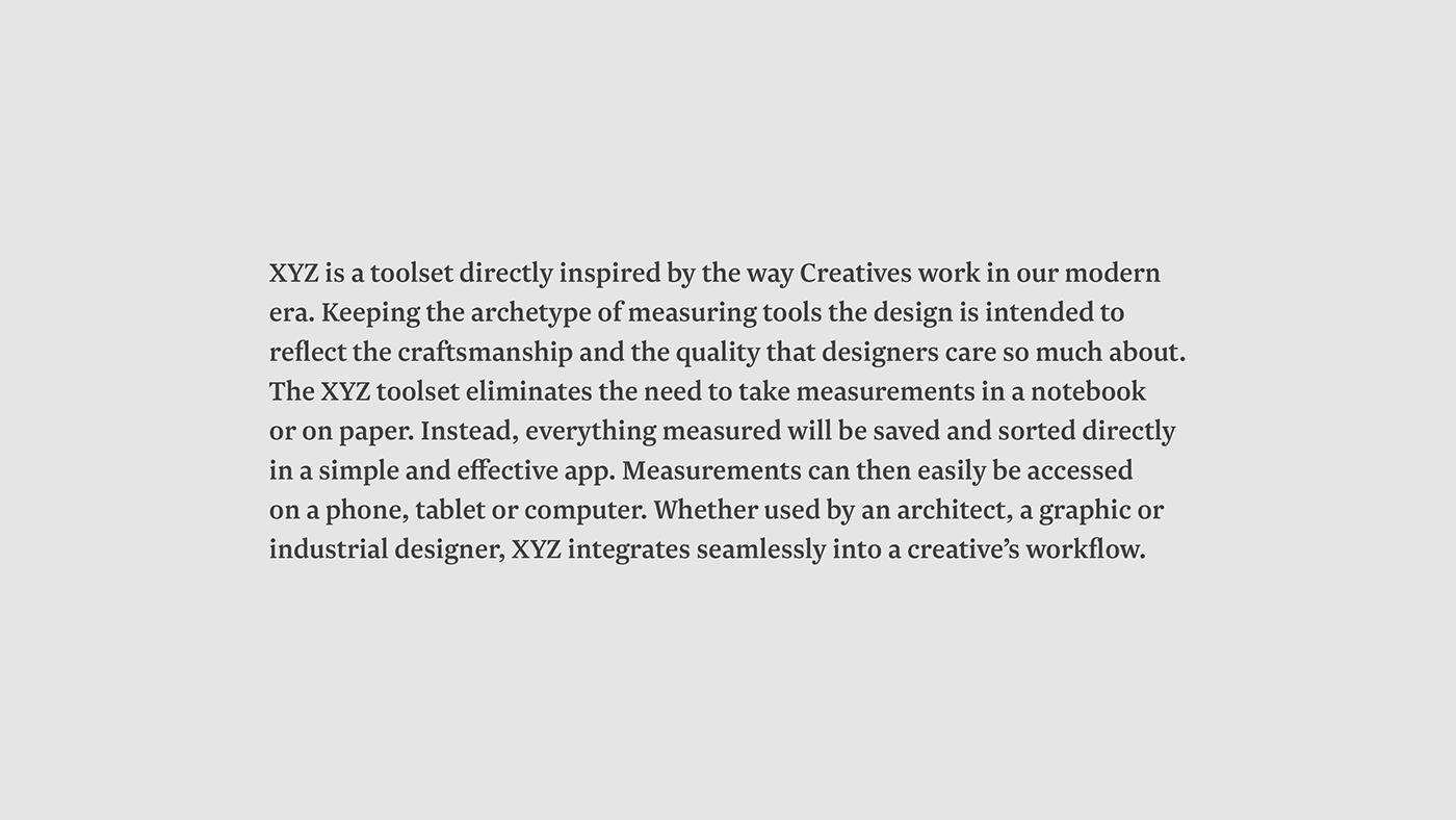 tools Measuring design ID 3D industrial design  app connected