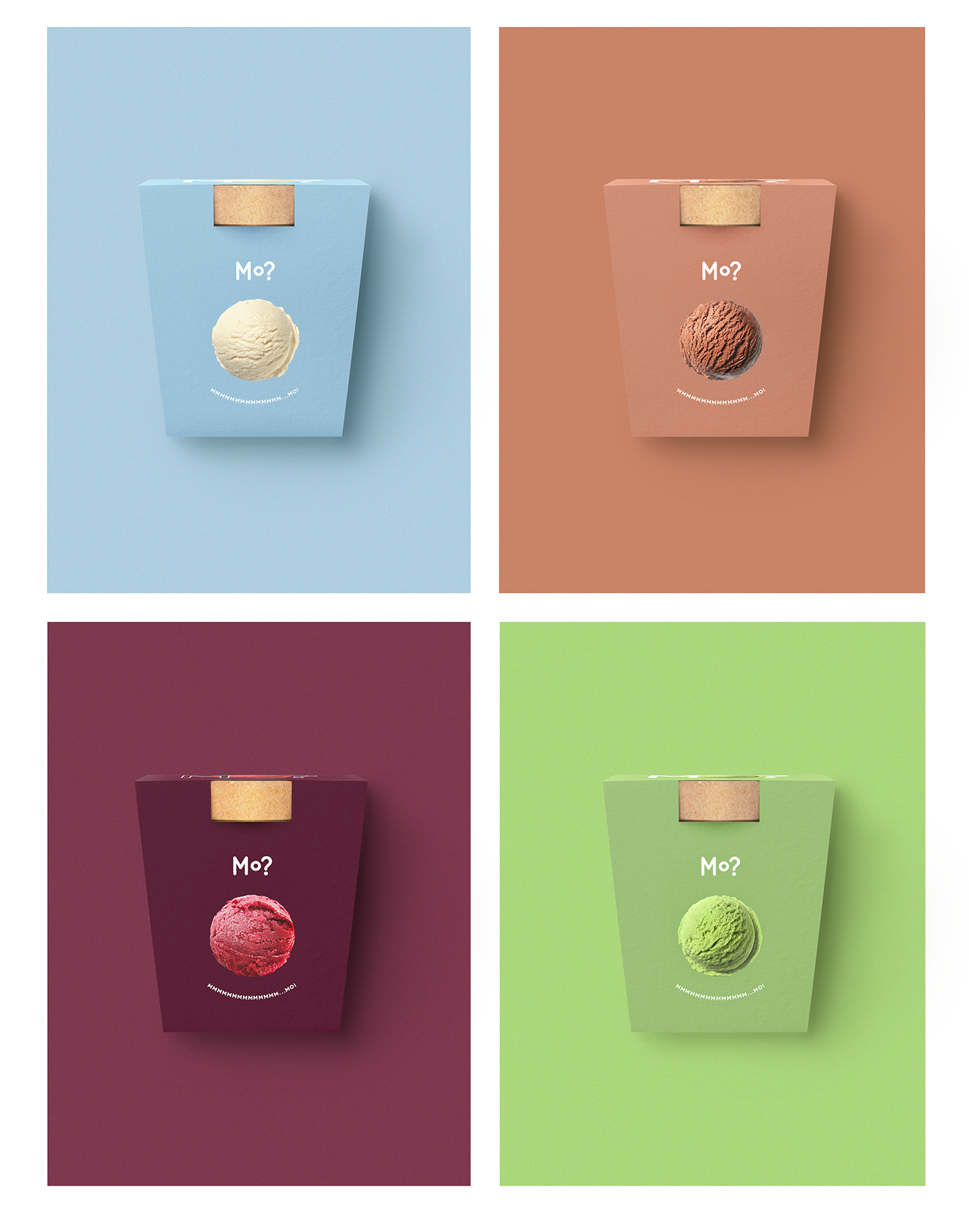 ice cream package identity Packaging brand poster print colorful Advertising  creative