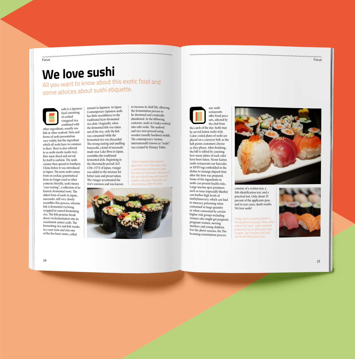 Sushi poster Food  graphic design  tshirt shirt Mug