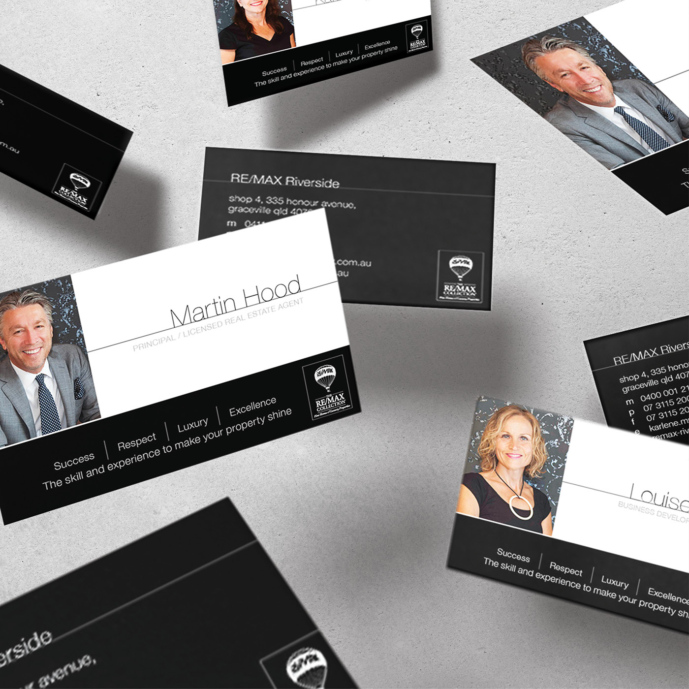 Remax collection office re brand on behance office with the re brand from belle real estate properties to remax while creating marketing collateral to be carried out across the remax network reheart Image collections