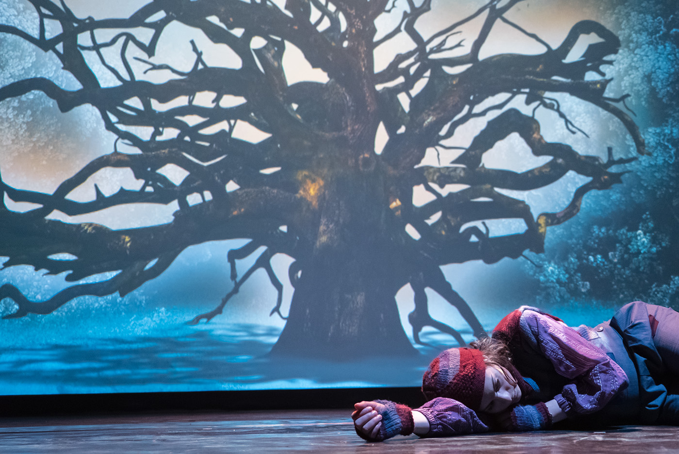 theater  child tale forest Russia motion design