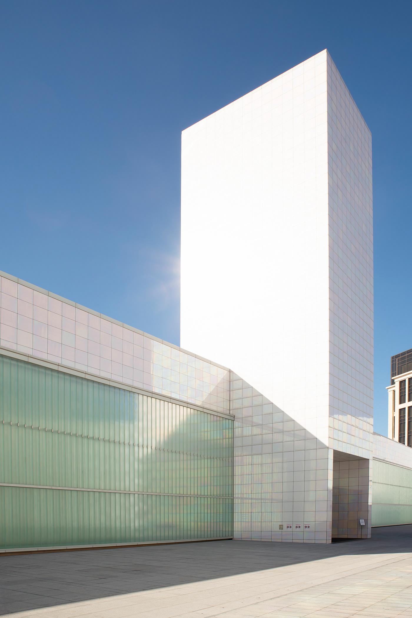 architecture arquitectura building color geometry Korea seoul South Korea urban geometry ZAHA HADID