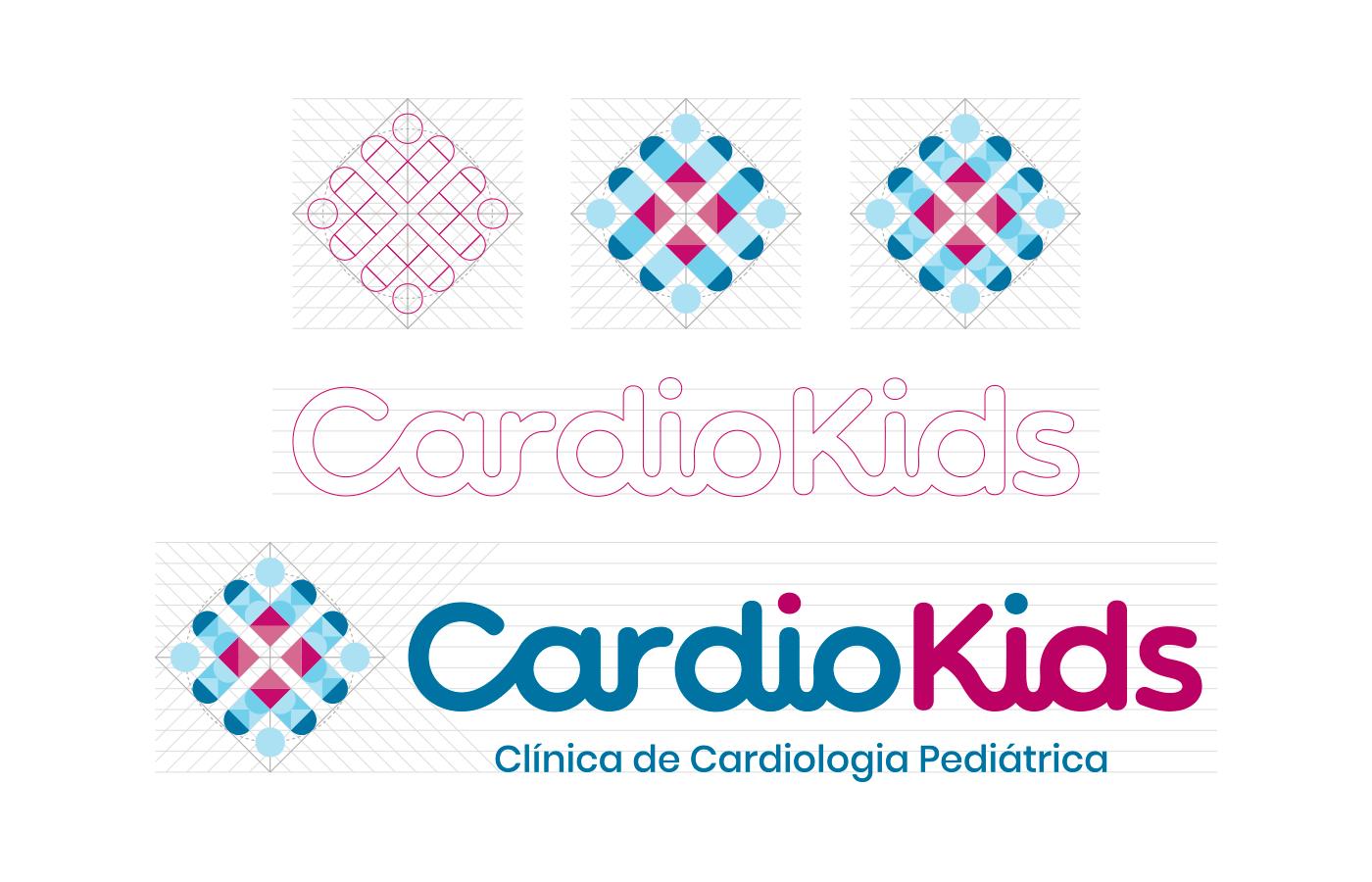 brand logo type lettering medical clinic child