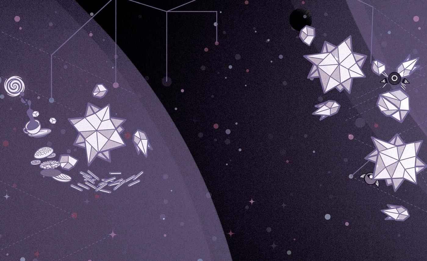 Space  owl future spaceship stars Planets Food  magazine Ammo