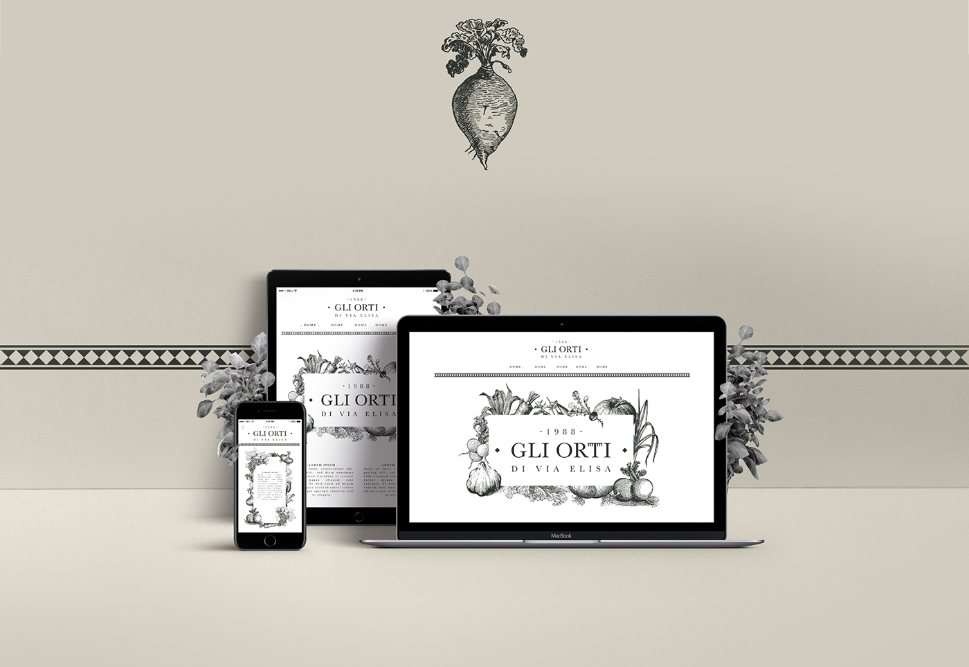 brand identity design corporate ILLUSTRATION  Food  marketing   creative