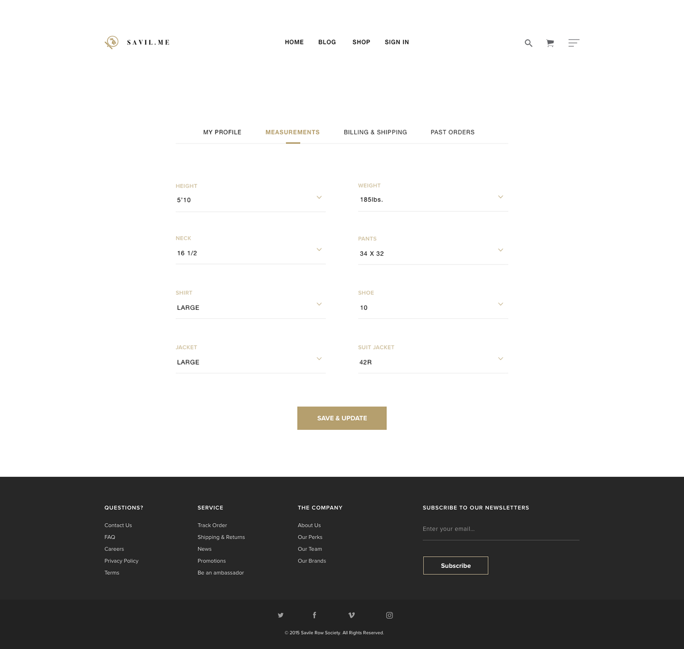 Ecommerce user experience luxury Clothing e-commerce Website modern