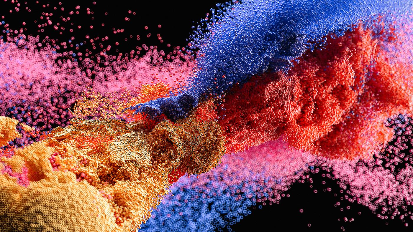 cellular explosion interstellar particles Stardust stars Space  universe wallpaper