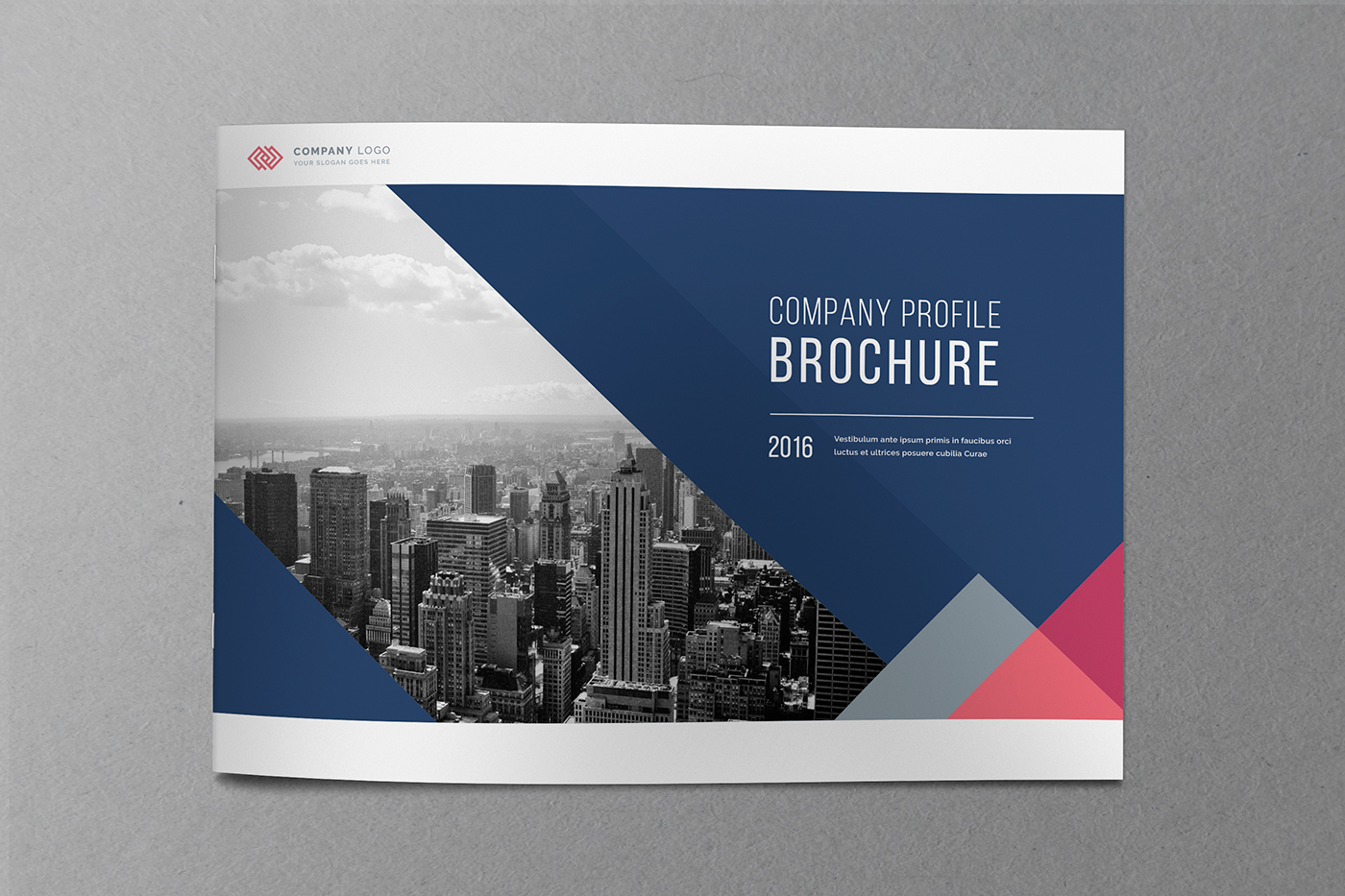 company profile brochure on behance