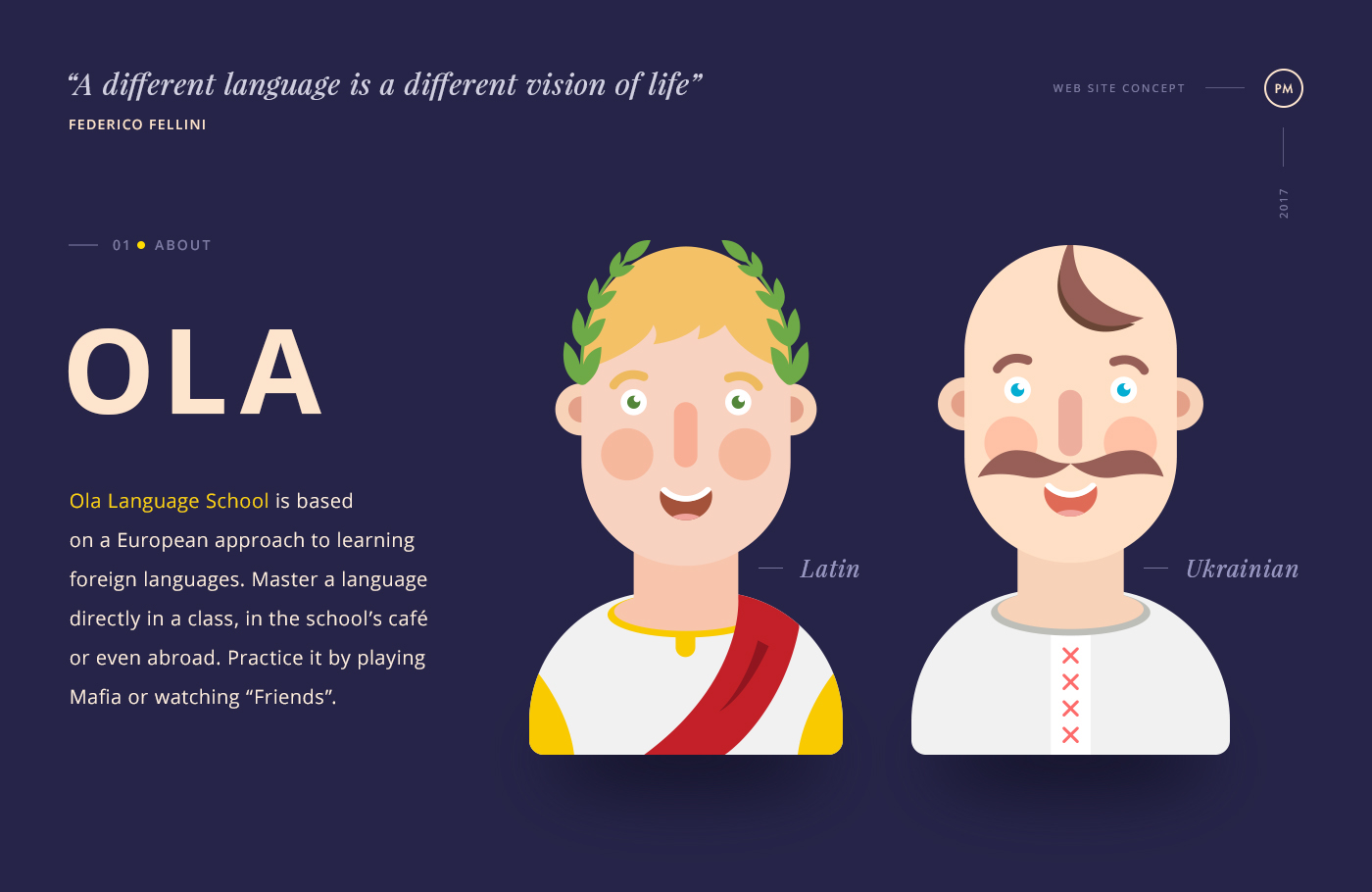 school clear study knowledge language trip Web design UI ux