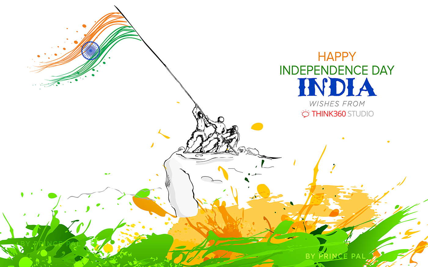 India Independence Day Wallpaper By Prince Pal On Behance