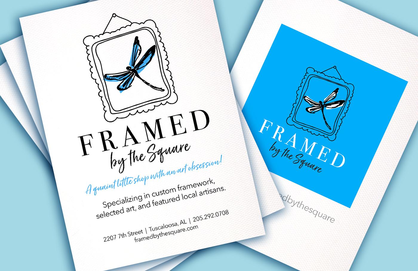 Logo Design frame shop