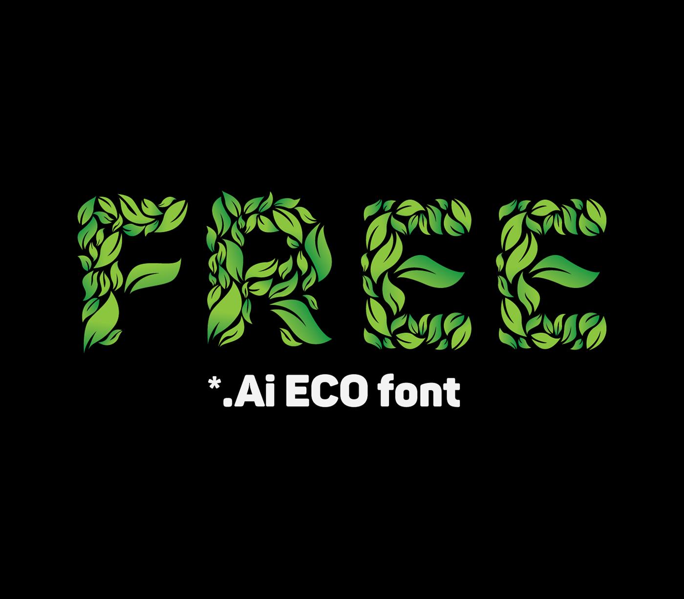 fonte ecofont gratis