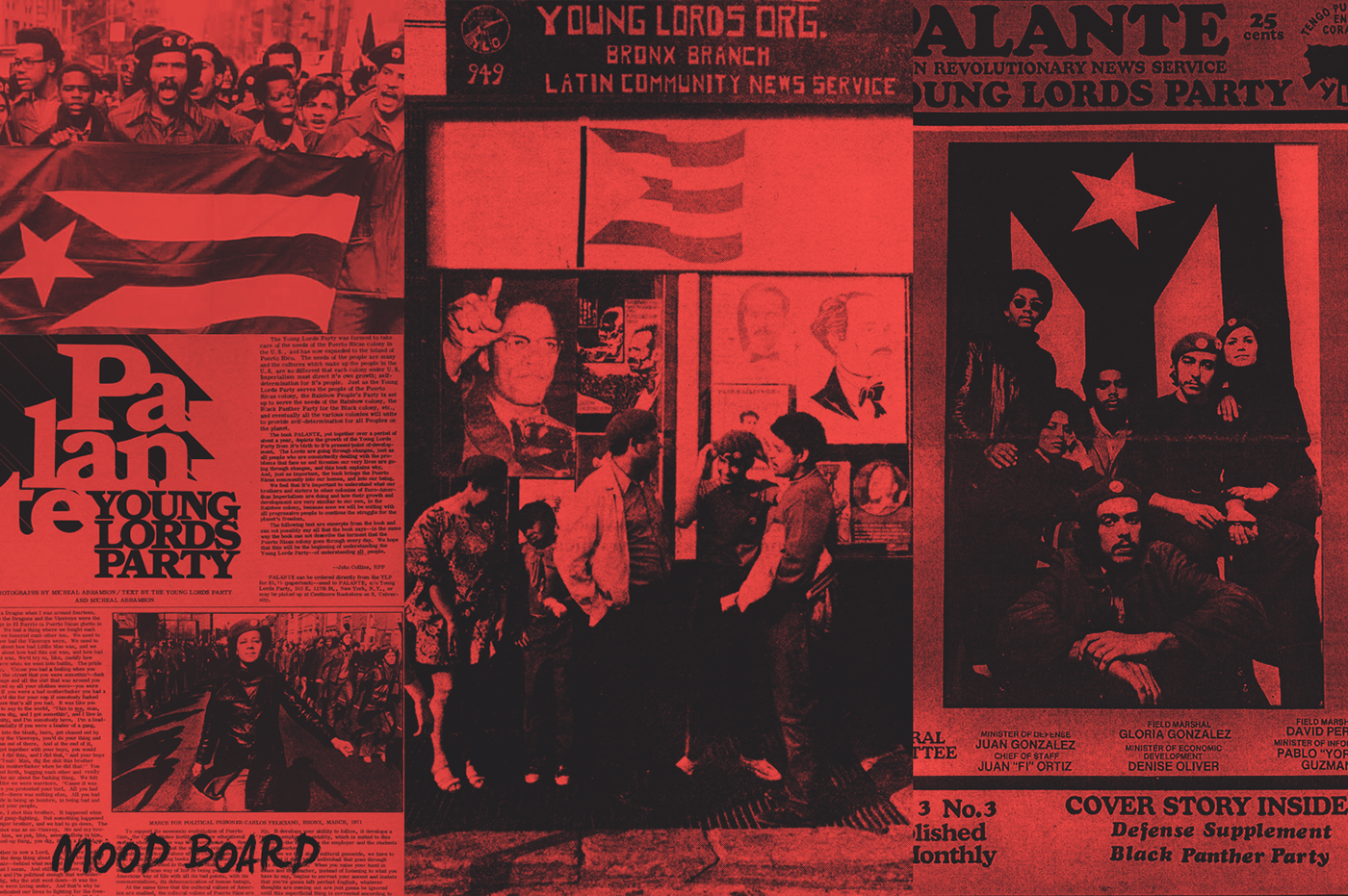 puerto rico puertorican college seminar poster University Stony Brook SUNY New York young lords history