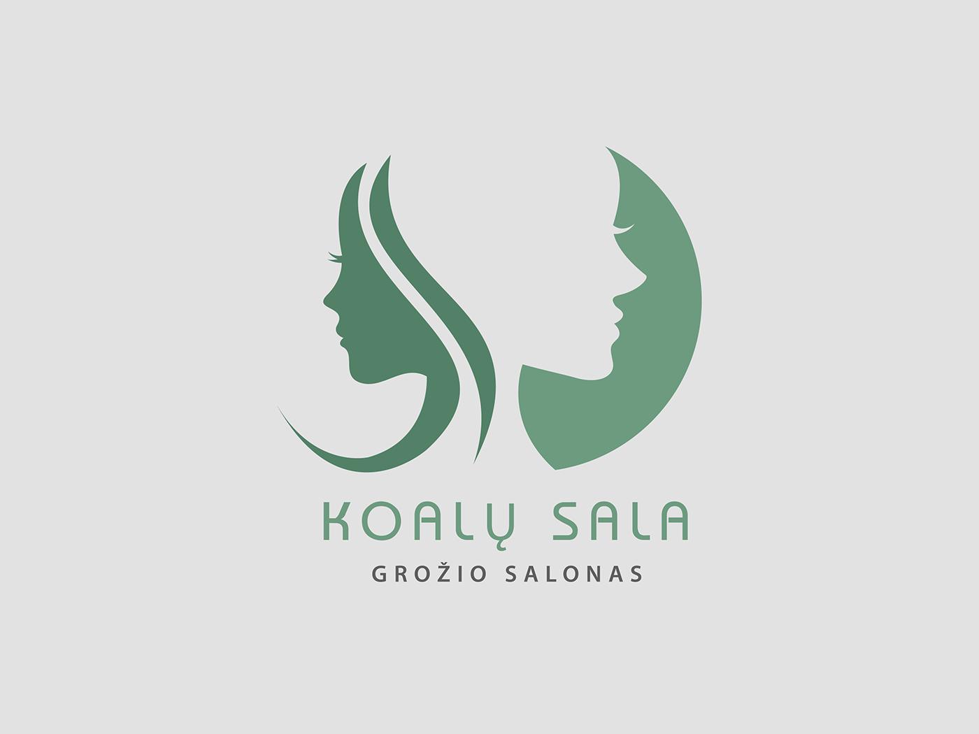 Beauty Salon Logo Redesign on Behance