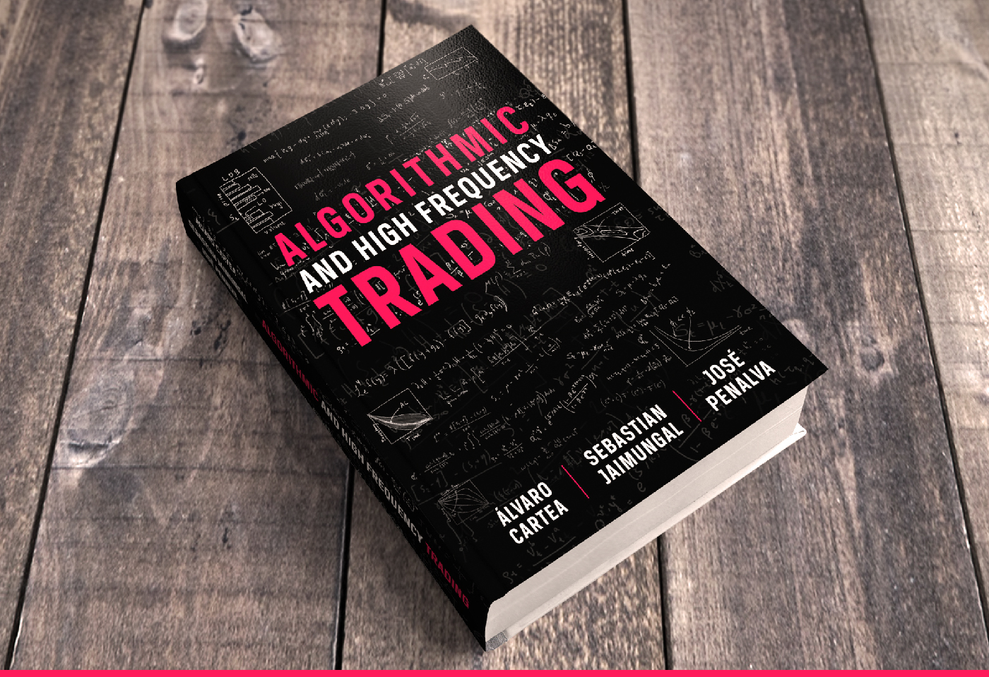 book cover algorithmic and high frequency trading on behance