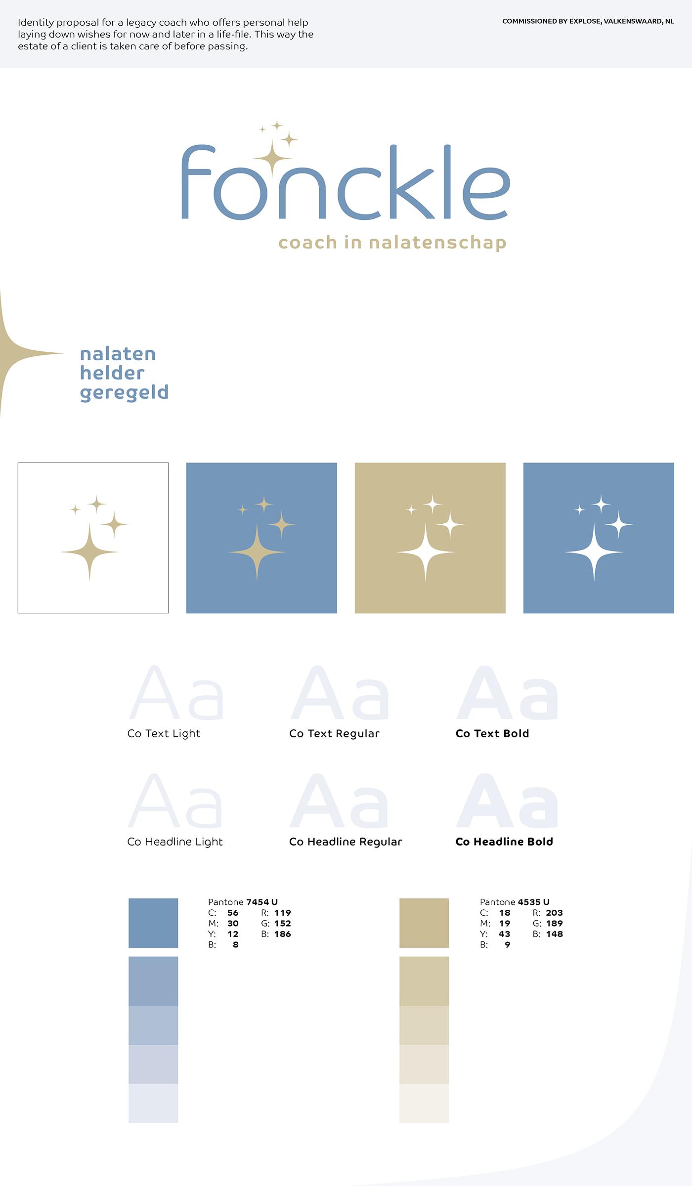 graphic design  identity estate Legacy Coach dutch eindhoven Jacco van Rooij
